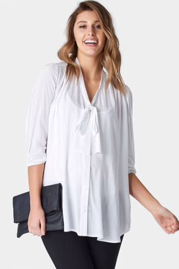 Maternity Work Blouse