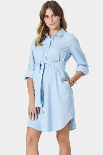 Oliviia Maternity & Nursing Shirt Dress