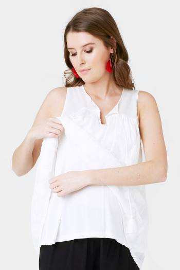 Axtec Lace Nursing Top