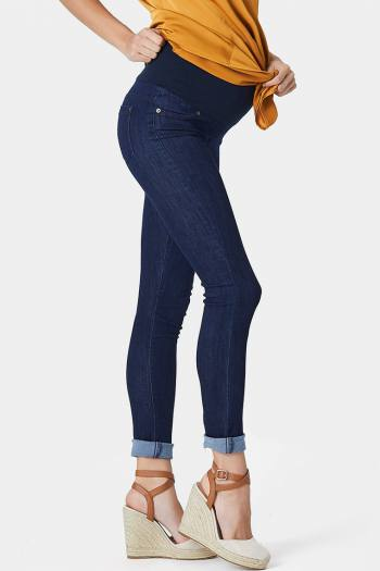 Maternity Jeans in Ink Navy