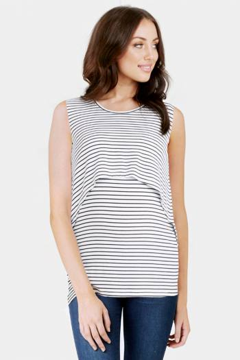 Swing Back Maternity & Nursing Top