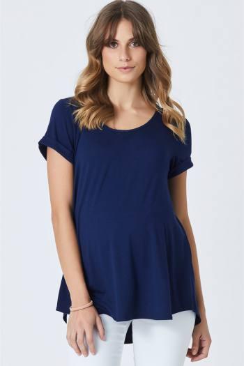 materhity-lucy-basic-bamboo-tee-tshirt-trendy-online-navy-1